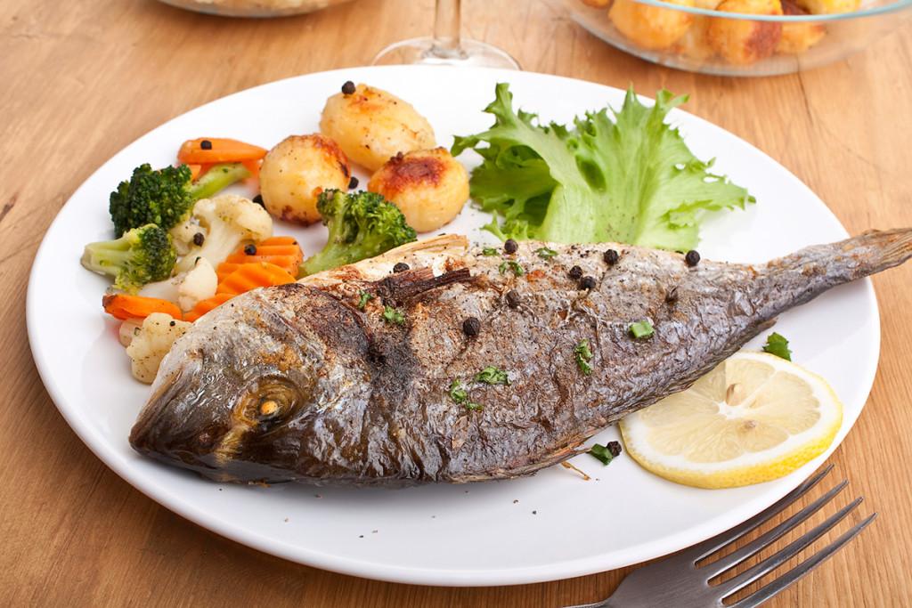 Паста из рыбы