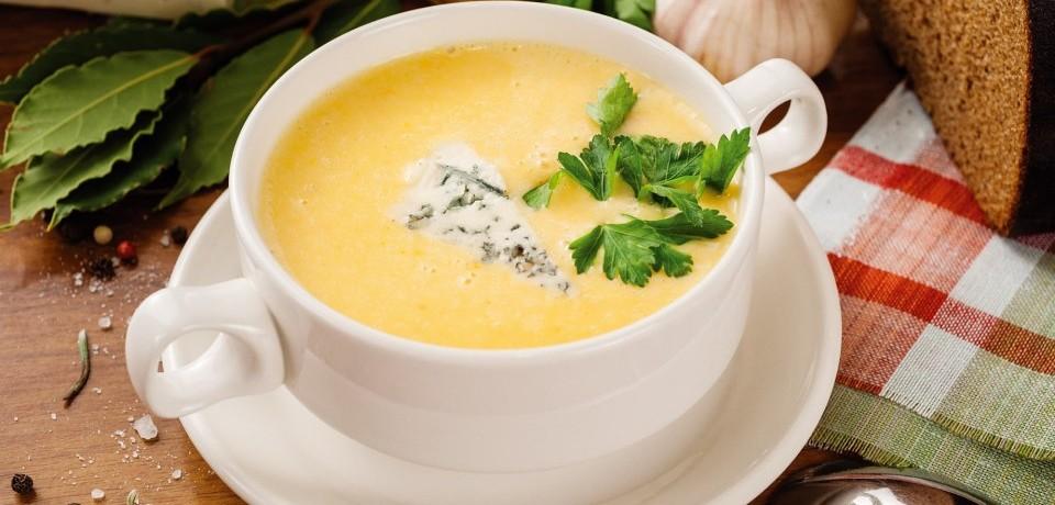Как варить сырный суп