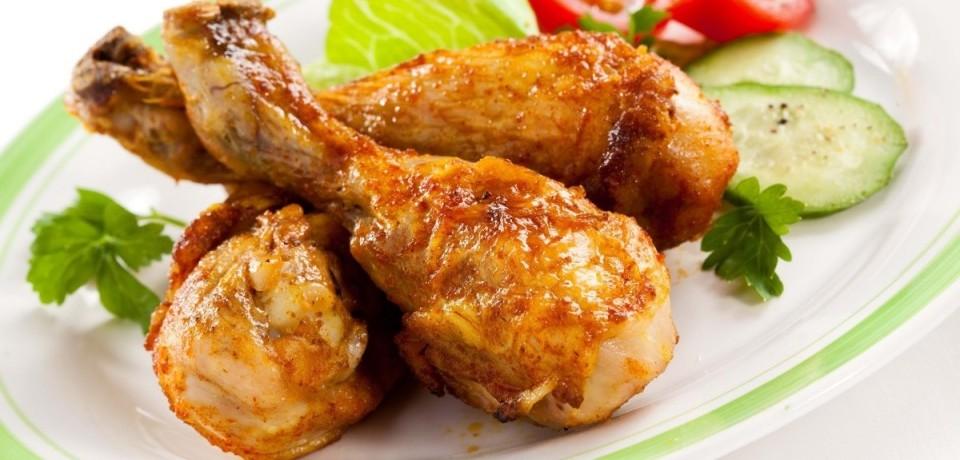 Копченые куриные окорочка