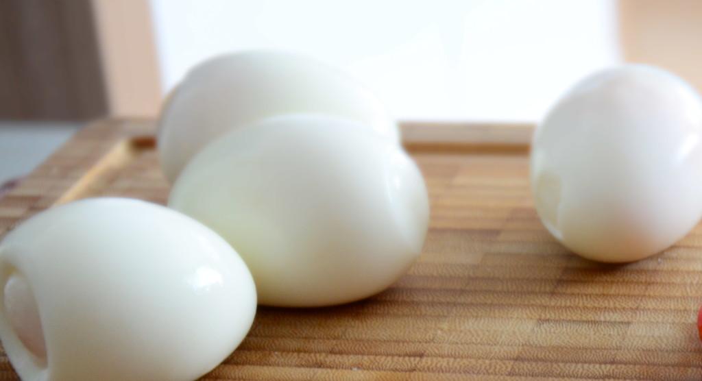 Копченые куриные яйца