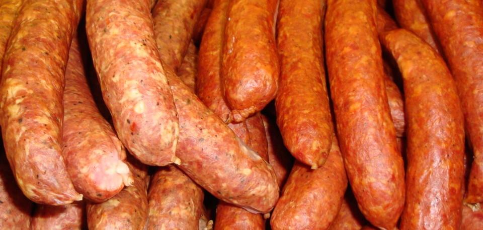 копченая колбаса в домашних условиях
