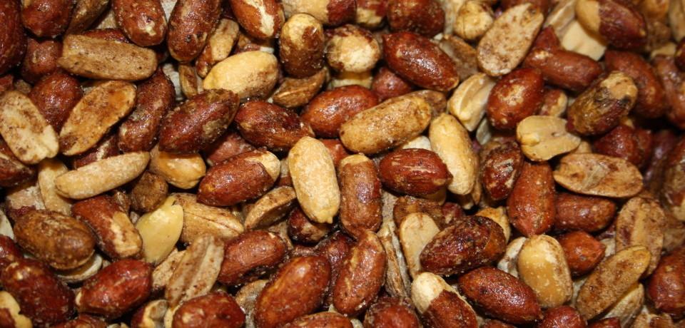 Копченый арахис